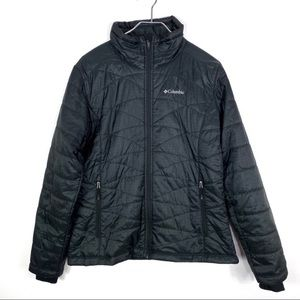 Columbia Black women's puffer jacket